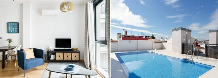 Rooftop Gem with Pool Near Central Malaga