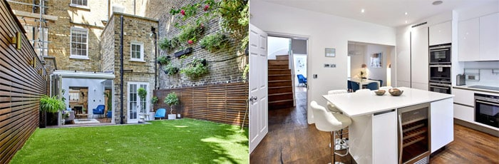 Stylish Townhouse with Garden in Central London