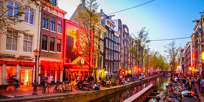 The Red Light District (De Wallen)