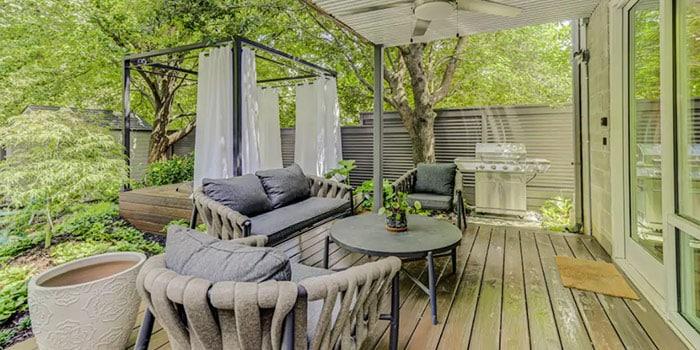 Amazing Zen Garden Unit with Relaxing Hot Tub