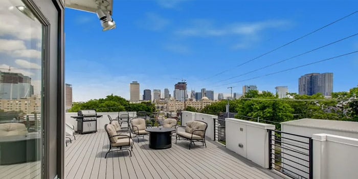Downtown Home Rooftop with City Views