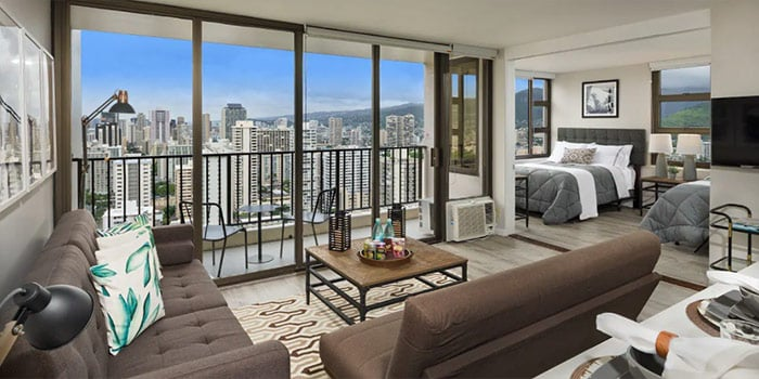 Incredible 1 Bedroom at Waikiki Banyan