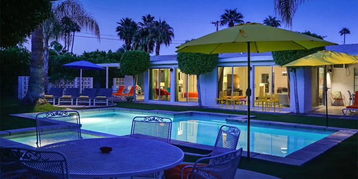 Palm Springs Poolside Retreat