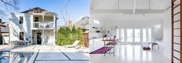 Remodeled 1928 Guesthouse with a Pool in Five Points