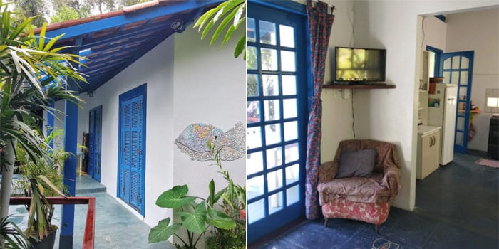 Caiçara Style House at Vermelhinha Beach