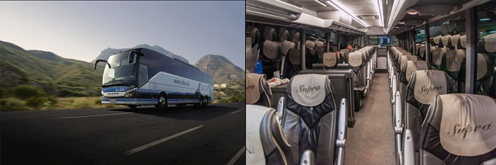 Alicante to Madrid by bus