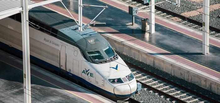 New AVE locomotive in Alicante