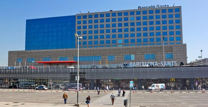 Barcelona Sants station