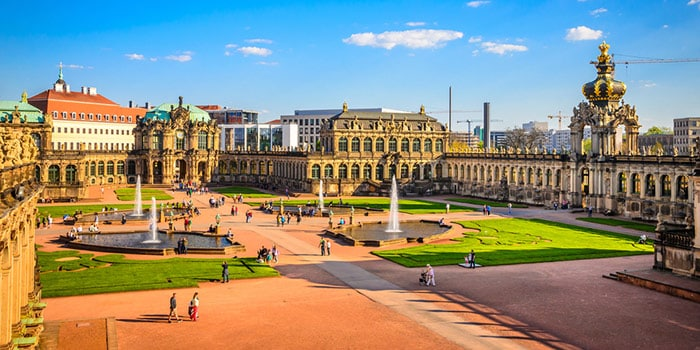 Berlin to Dresden by organised tour
