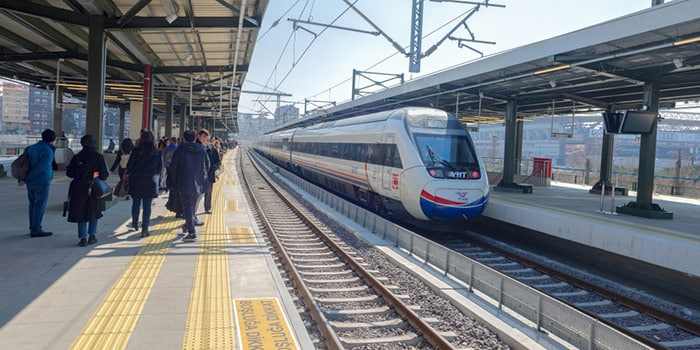 Istanbul to Antalya by high-speed train