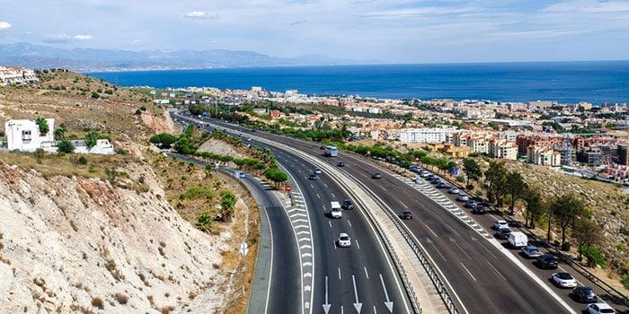 Madrid to Malaga by car