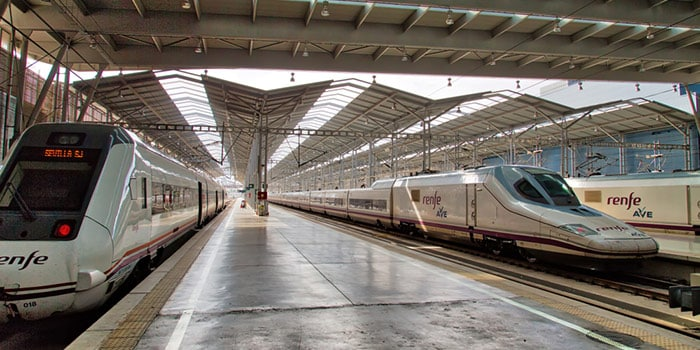 Madrid to Malaga by high-speed train