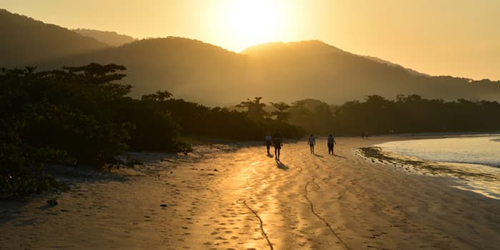 Praia do Pereque Acu