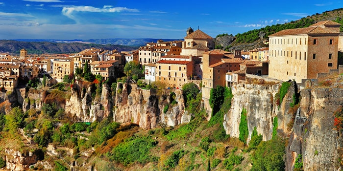 Walled city of Cuenca